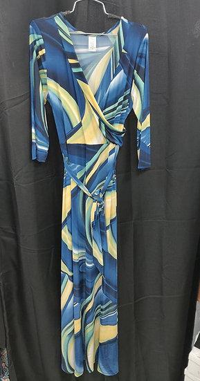 Blue Maxi DressPlus