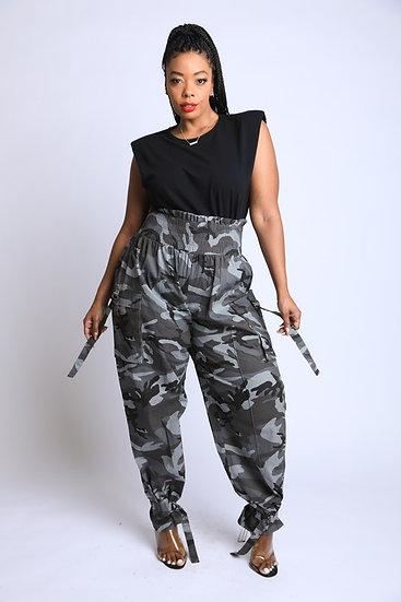 Plus Cami Highwaisted Pants
