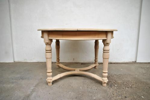Ronde uitschuifbare tafel 120 160 x77