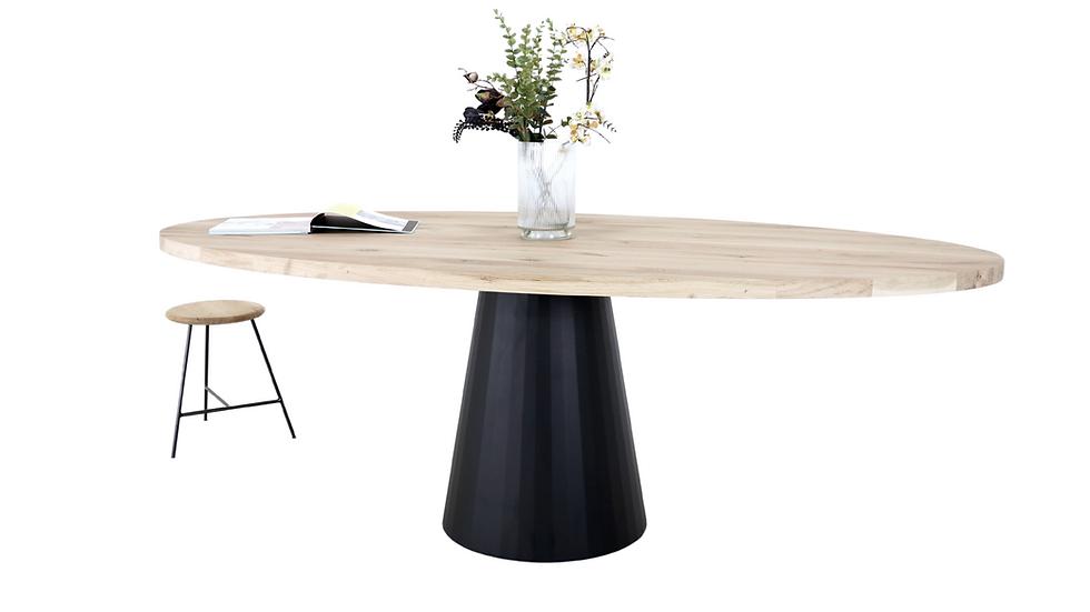 Ovale design tafel KONO ELLIPS