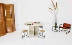 foto studio set krukjes lounge chair roc