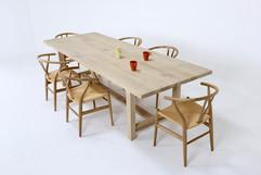 eiken tafel Marcus maatwerk tafels simo