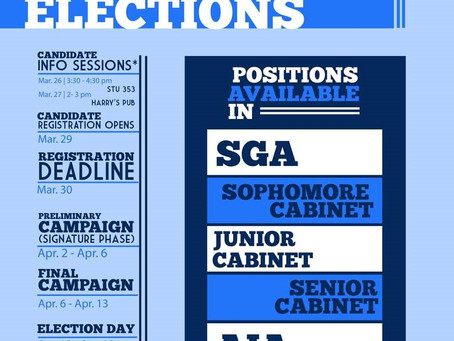 Student Leader Elections 2018: Part 1