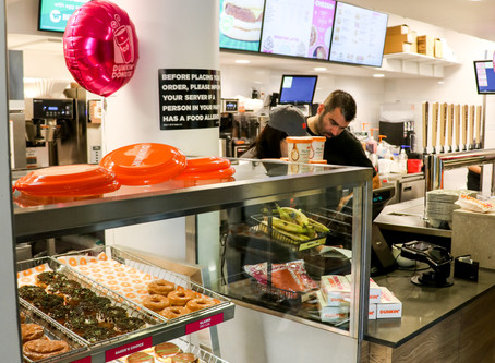 Dunkin's Grand Reopening in the Stu!