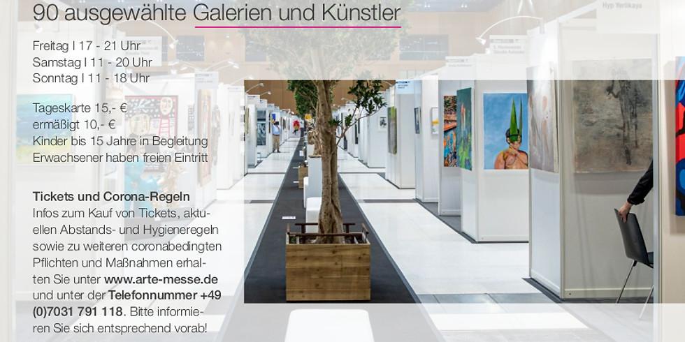 ARTe Messe für zeitgenössische Kunst