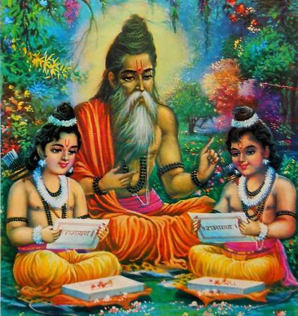maharishi valmiki, valmiki ashram, hinduism