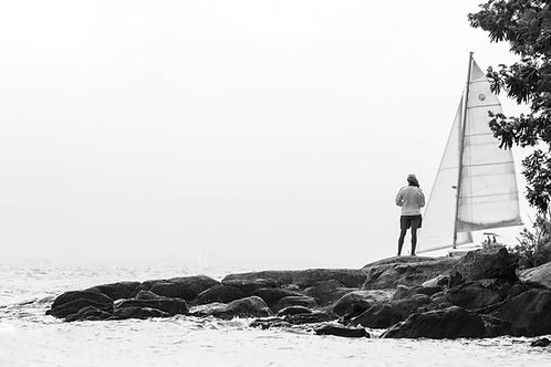 O homem, a vela, o mar