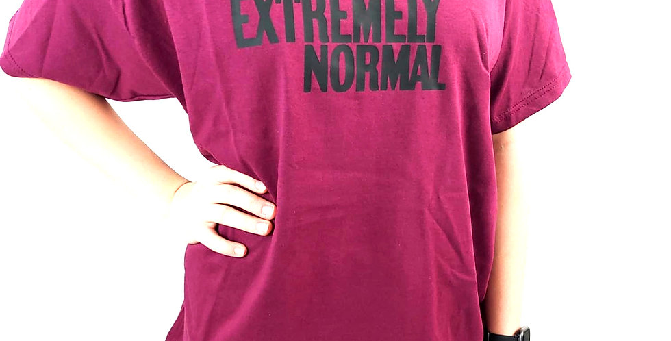 EXTREMELY NORMAL T-SHIRT