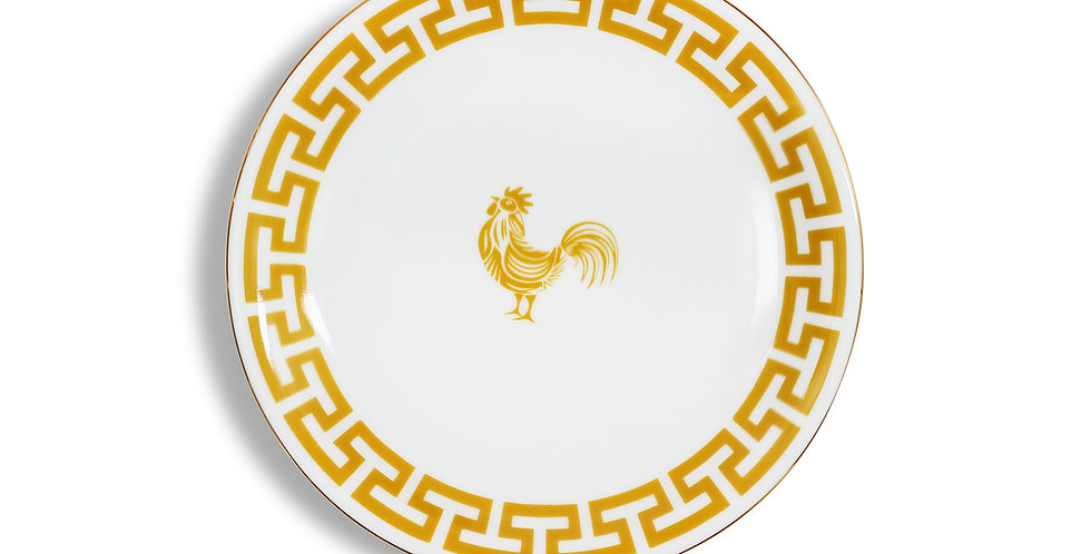 Lucky Rooster Collection Mustard 18 cm Servis Tabak