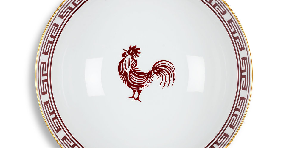 Lucky Rooster Collection Red 25 cm Servis Kase