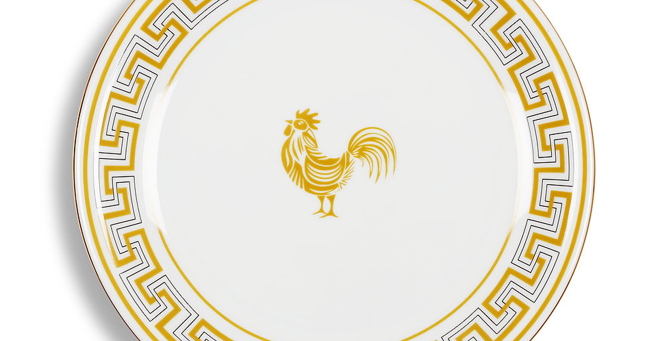 Lucky Rooster Collection Mustard 24 cm Servis Tabak