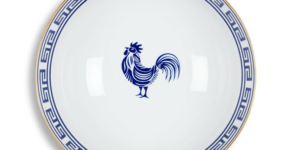 Lucky Rooster Collection Blue 25 cm Servis Kase