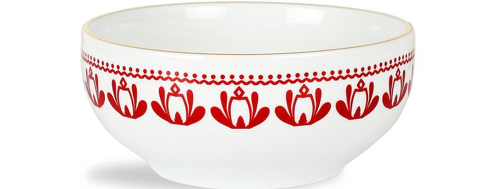 Horse Luck Collection Red - 13cm Çorba Kase