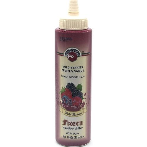 Fo Frozen Orman Meyveli Sos (Püre) (1 kg)