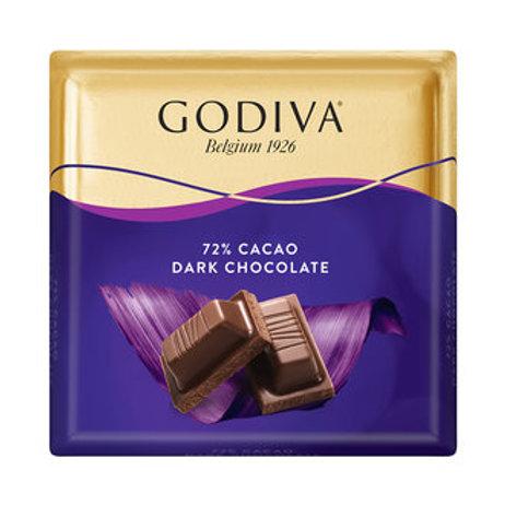 Godiva %72 Bitter Çikolata Kare 60 G