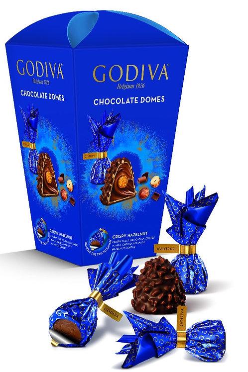 Godiva Chocolate Domes Crispy Hazelnut - 130 gr çikolata
