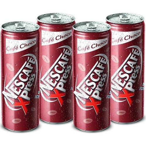 Nescafe Xpress Choco Soğuk Kahve 250ml 4 Adet