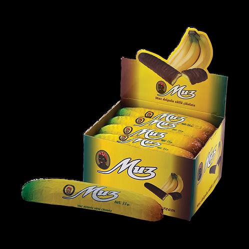 Mabel Muz Çikolata 33 gr 1 adet