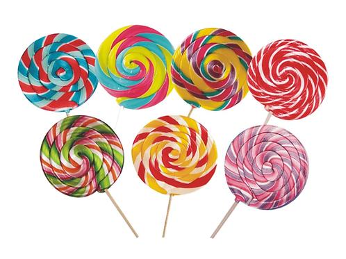 Lolipop Şeker Değişik renk ve şekillerde 30 gr 6 adet