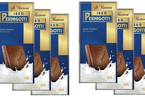 Pernigotti Passioni Sütlü Çikolata 100 gr - 6 adet
