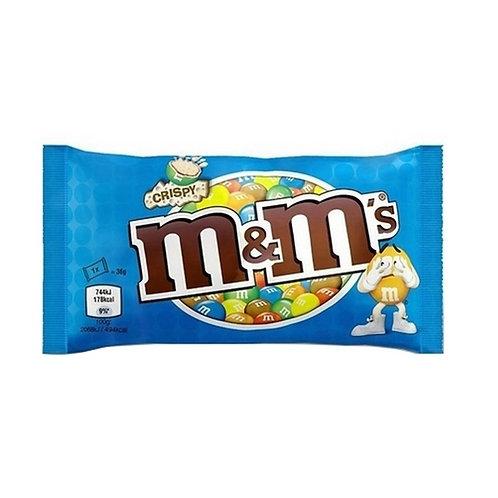 M&M's CRISPY POUCH 36 gr