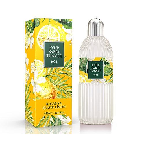 Eyüp Sabri Tuncer Klasik Limon Kolonyası 400 ml cam şişe