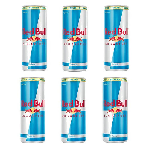 Red Bull Sugar Free 250 ml*6 adet