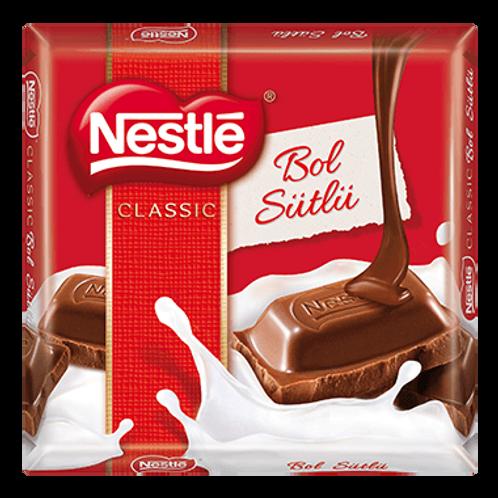 Nestle CLASSIC Bol Sütlü Çikolata (6x65gr)