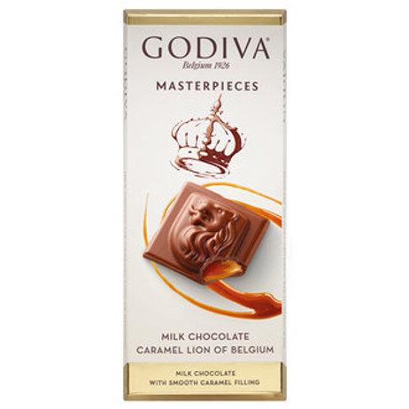 Godiva Sütlü Karamel Çikolata Tablet 86Gr