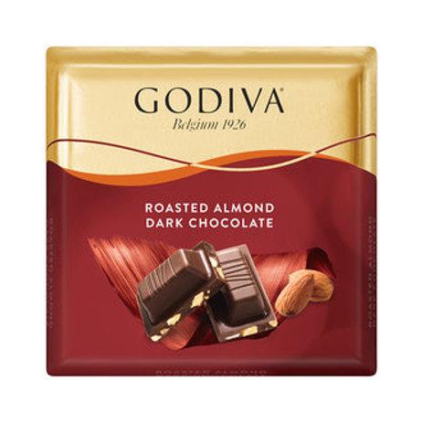 Godiva Bademli Bitter Çikolata Kare 60 G