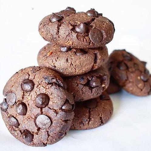 Tereyağlı Çikolatalı Amerikan Kurabiyesi (Adet)