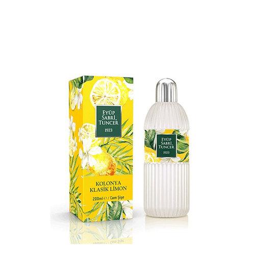 Eyüp Sabri Tuncer Klasik Limon Kolonyası 200 ml cam şişe