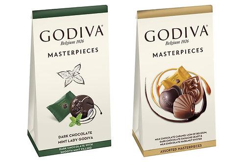 Godiva Masterpieces Karışık Çikolatalar ve Nane-Bitter 115 Gr 2 Kutu