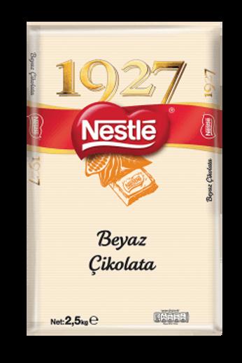 Nestlé 1927 Beyaz Kuvertür Tekli 2,5kg