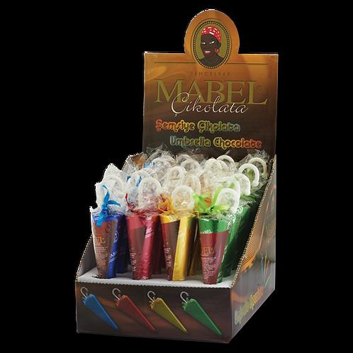 Mabel Şemsiye Çikolata 30 gr - 24'lü