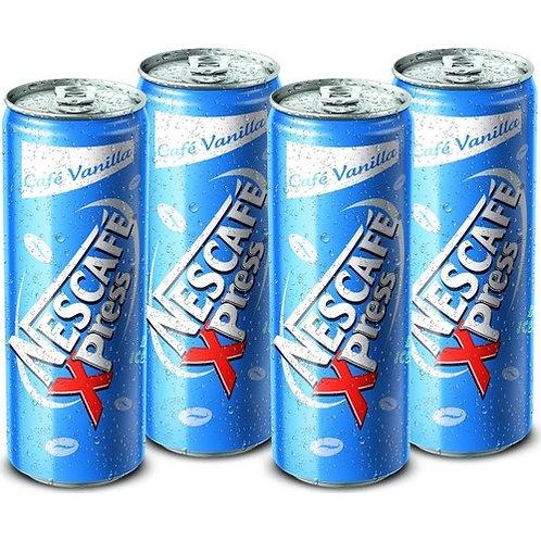 Nescafe Xpress Vanilla Soğuk Kahve 250ml 4 Adet