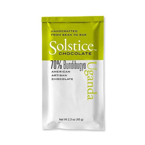 Solstice Uganda Dark Chocolate 70%
