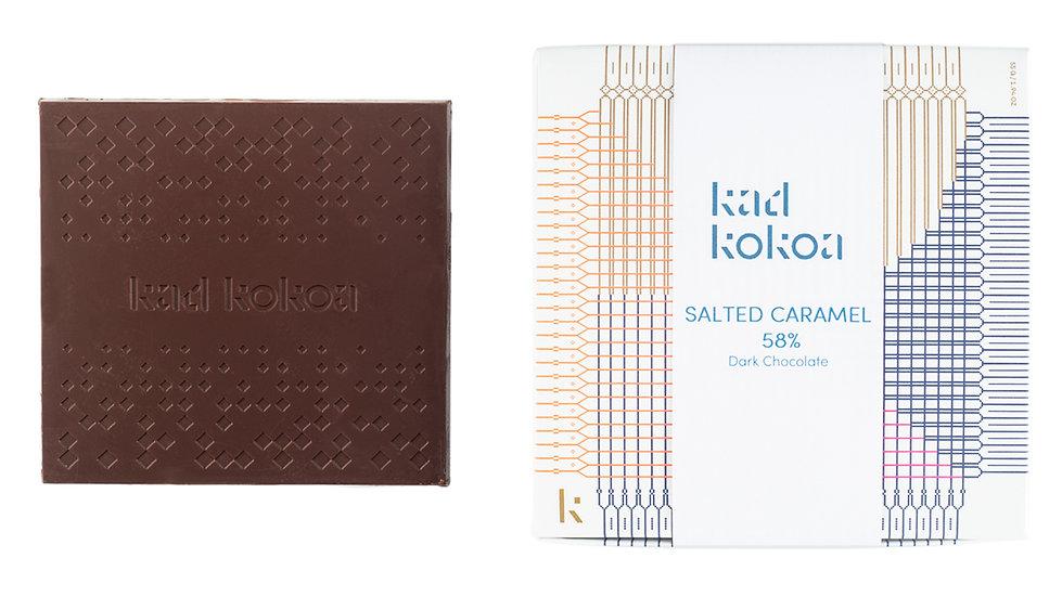 Salted Caramel Dark Chocolate 58%