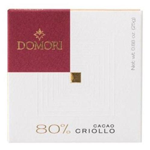 80% Criollo Dark Chocolate Bar
