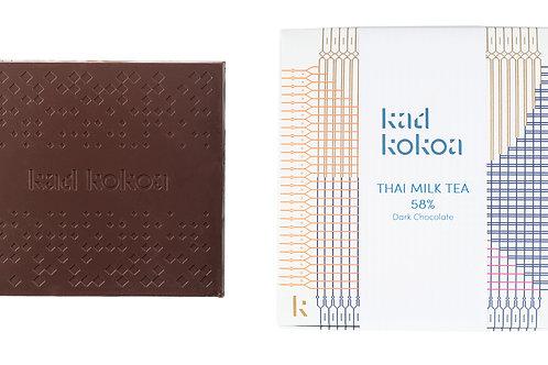 Thai Milk Tea Dark Milk Chocolate 58%
