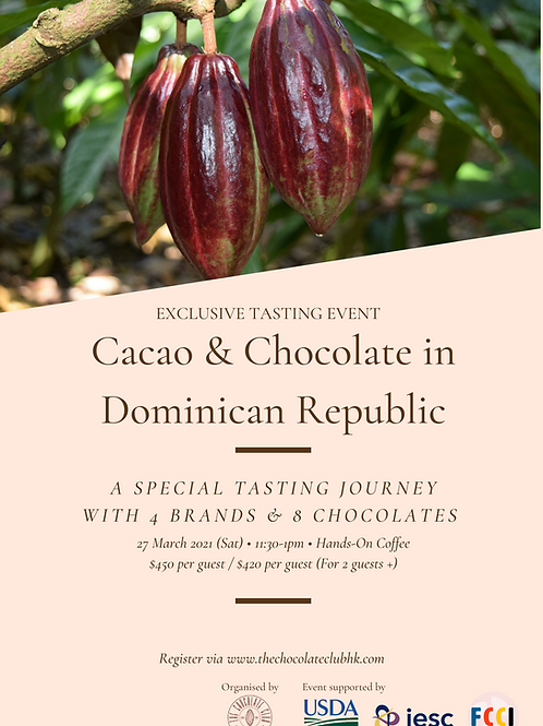 Exclusive Chocolate Tasting Workshop for Dominican Republican Cacao & Chocolate