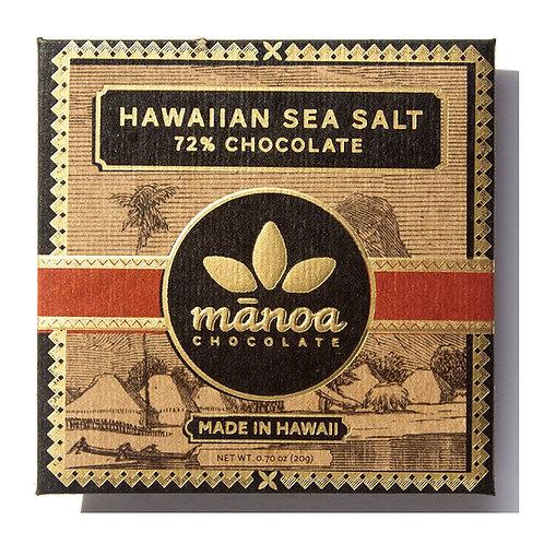 MANOA CHOCOLATE Hawaiian Sea Salt Chocolate Bar