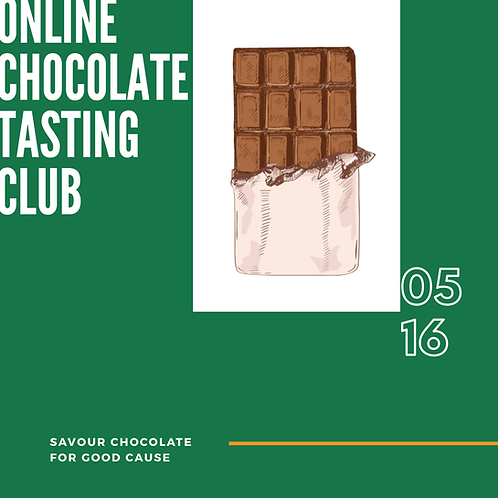 Online Chocolate Tasting Club (May Edition)