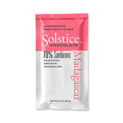 Solstice Madagascar Dark Chocolate 70%