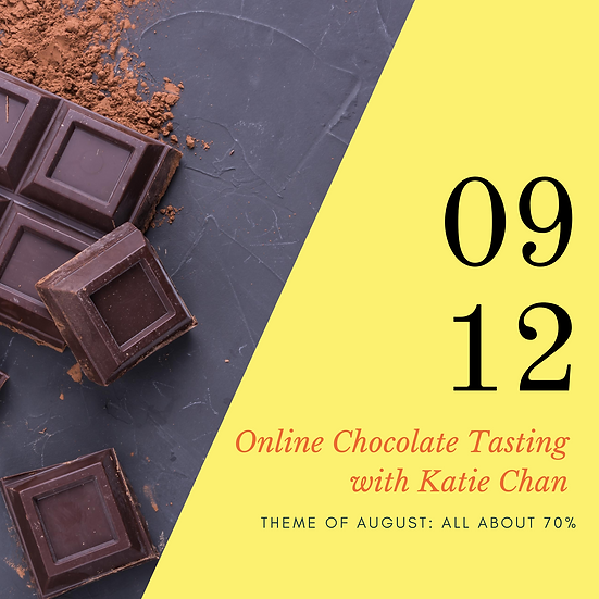 Online Chocolate Tasting Club (September Edition)
