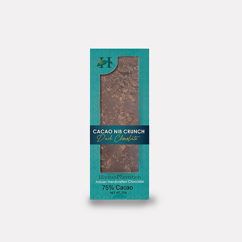 Hinitan Cacao Nib Crunch  - 75% Dark Chocolate