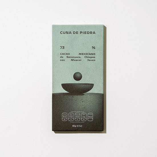 73% MEXICAN CACAO from Soconusco Chiapas with Mezcal Joven
