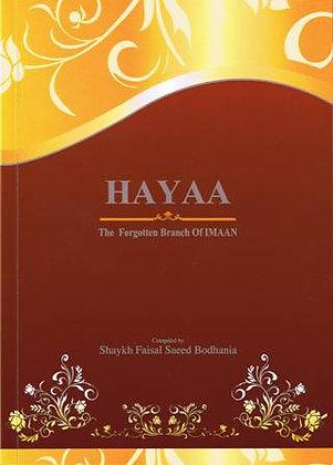 Hayaa The Forgotten Branch of Imaan