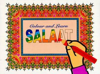 Colour and Learn Salaat - Book 6