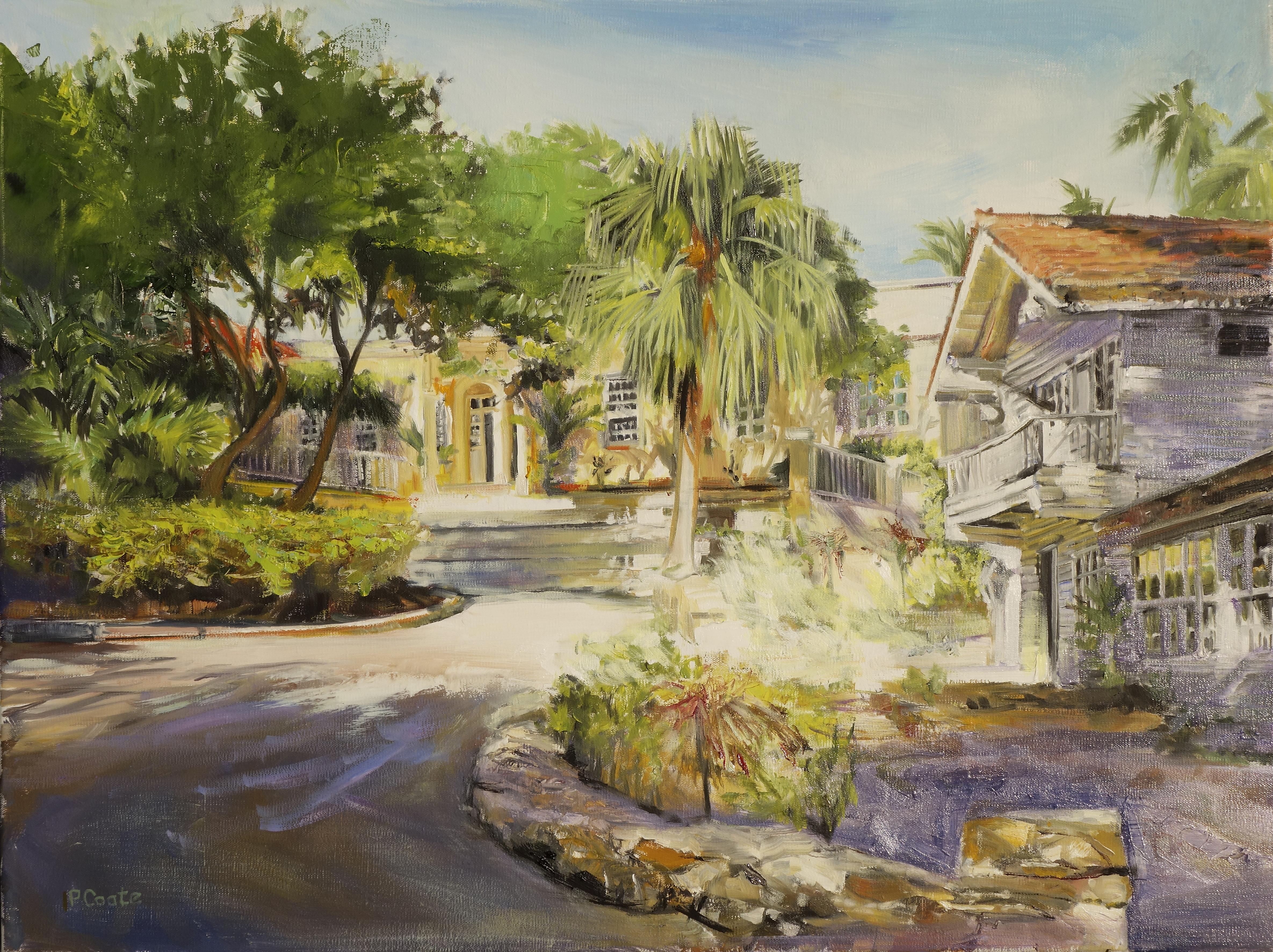 Havana Hemingway House  oil  18x24